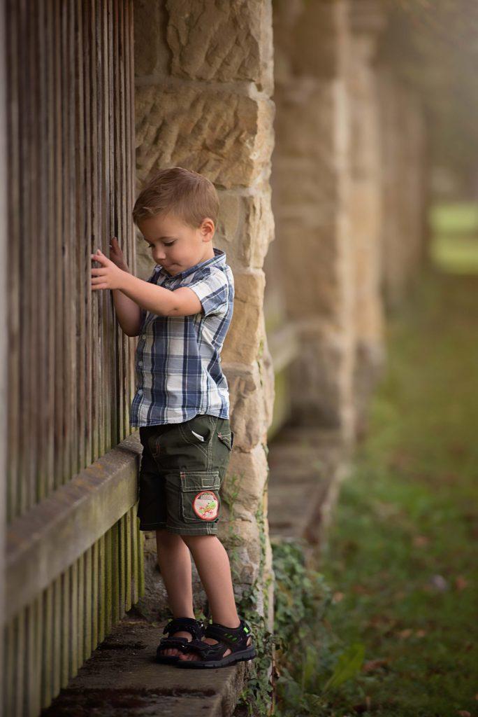 Kinderbild Dreijähriger Junge Ludwigsburg